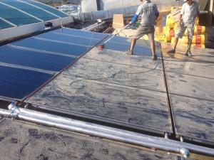 güneş enerjisi temizliği
